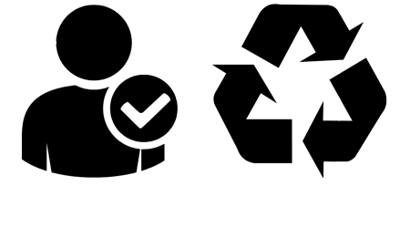 LH Contractors qualified staff recycled materials